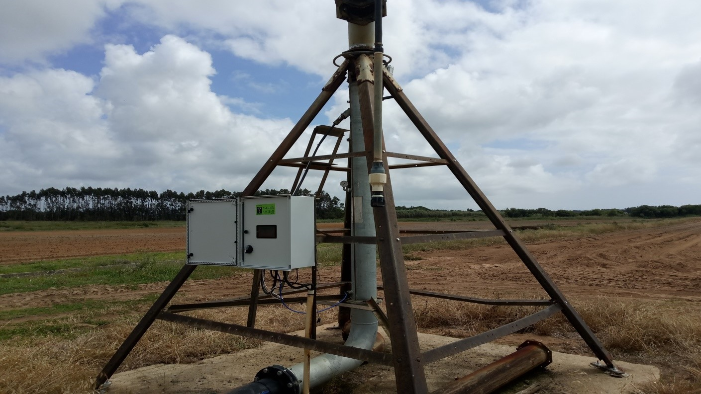 Central Pivot Irrigation system supported by EGNOS
