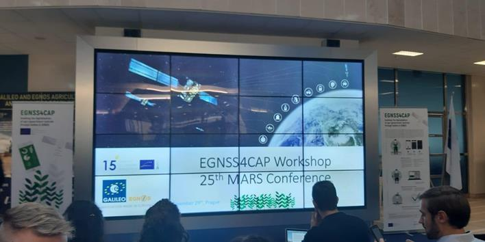EGNSS4CAP Workshop at the 25th MARS Conference. Credits: Cultiva Decisiones