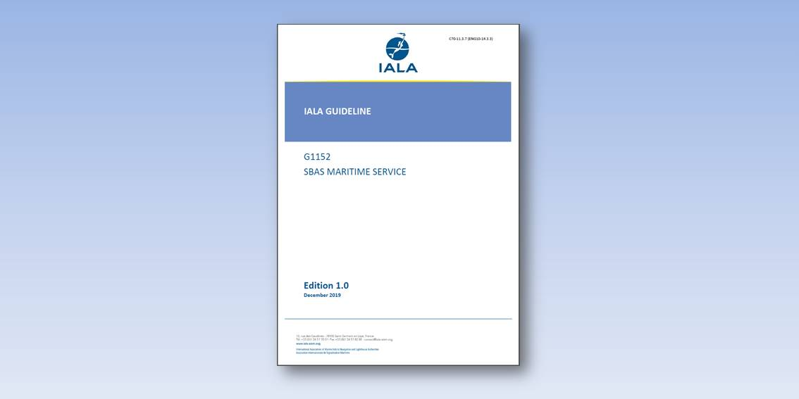 IALA Guideline 1152 on the SBAS Maritime Service book