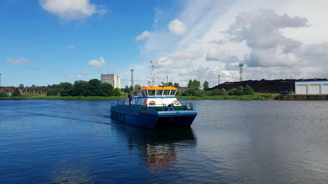 The Hydrographic Service of the Maritime Administration of Latvia