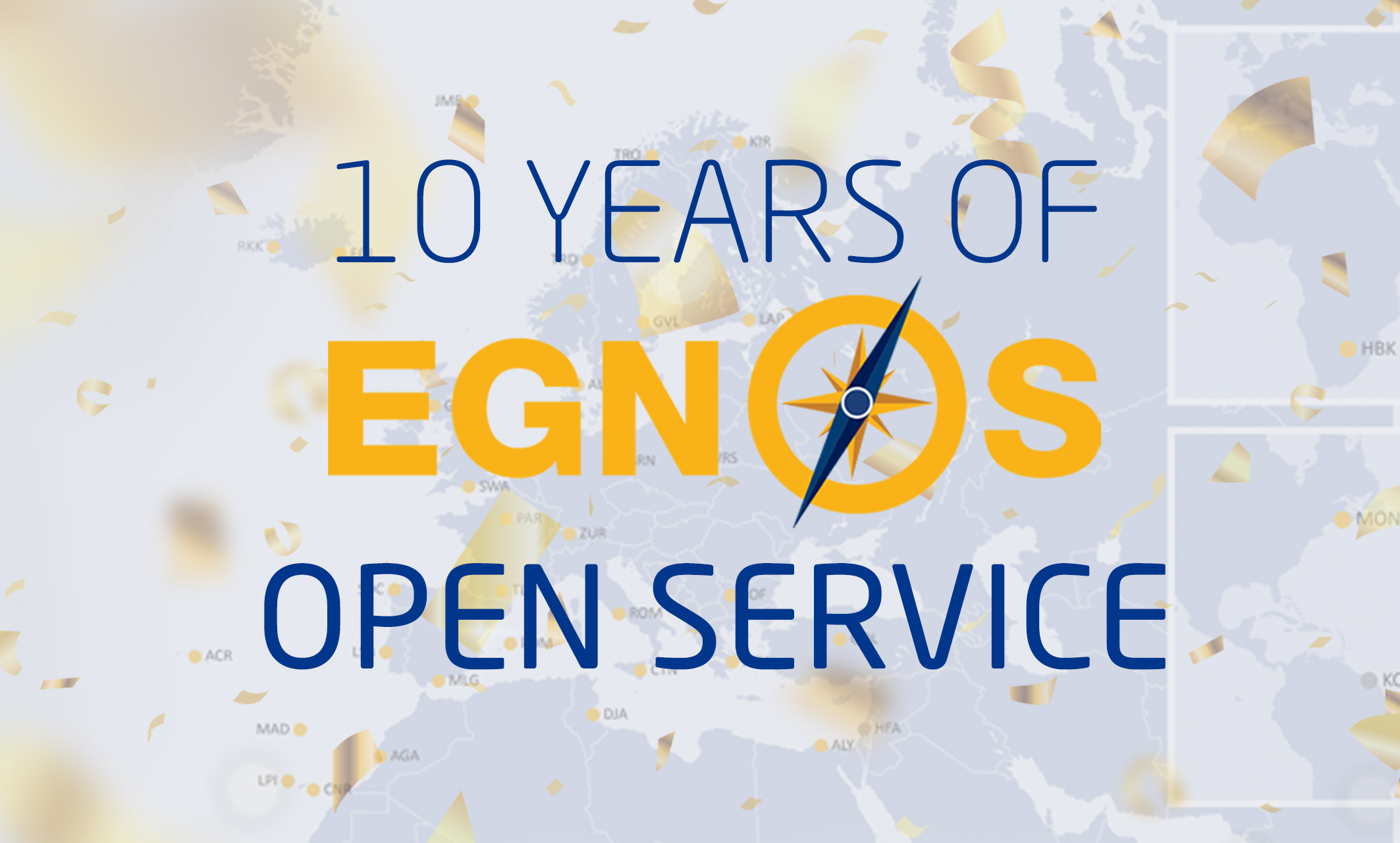 10 years of Open Service logo