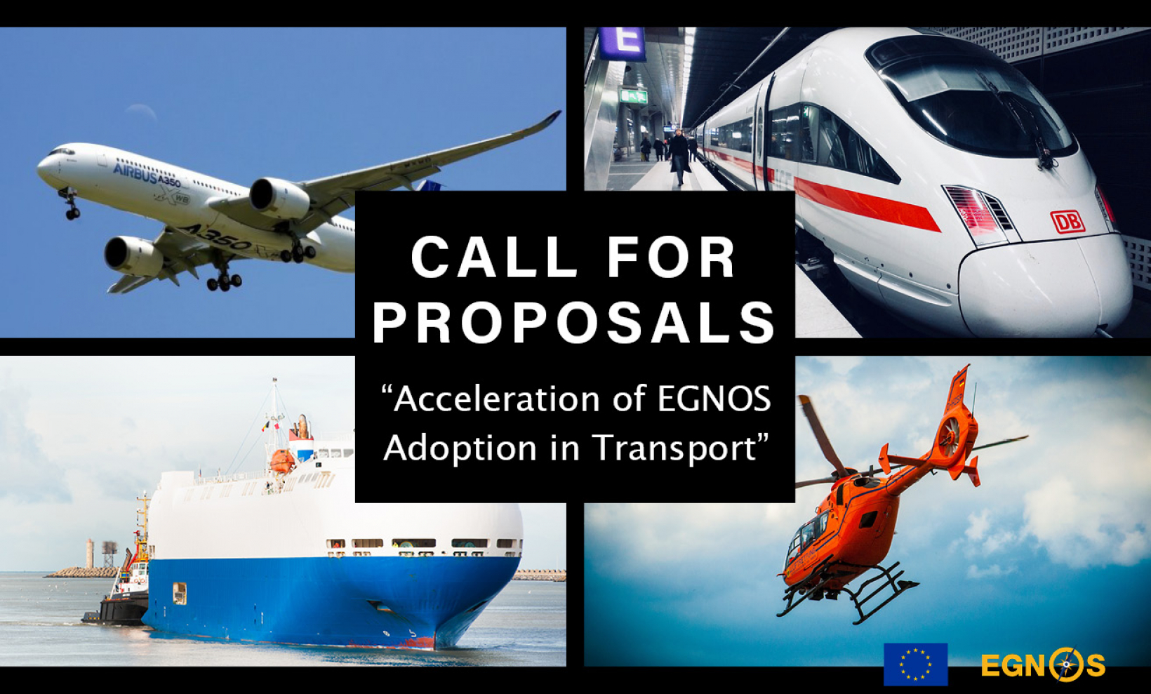 """CALL FOR PROPOSALS """"Acceleration of EGNOS Adoption in Transport"""""""