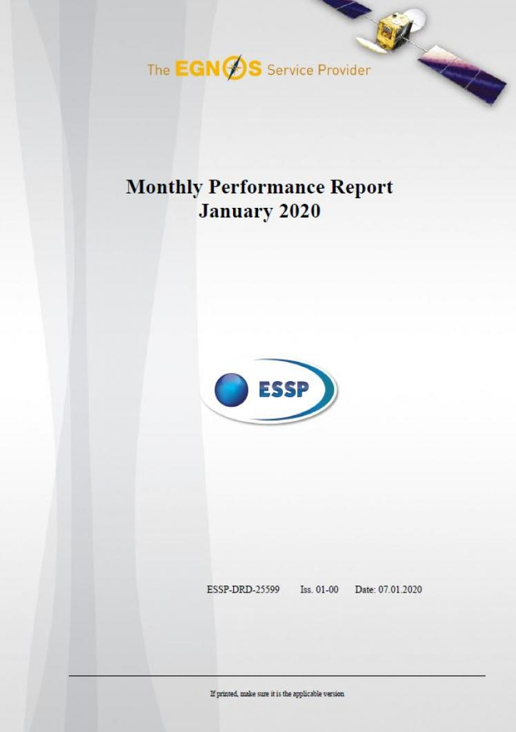105 - Monthly Performance Report - January 2020