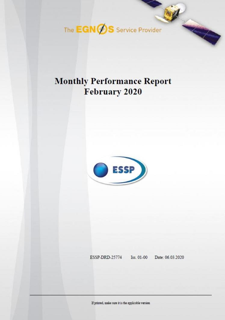 106 - Monthly Performance Report - February 2020