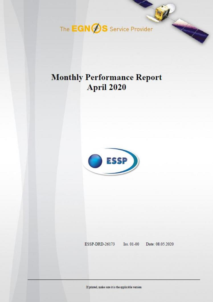 108 - Monthly Performance Report - April 2020