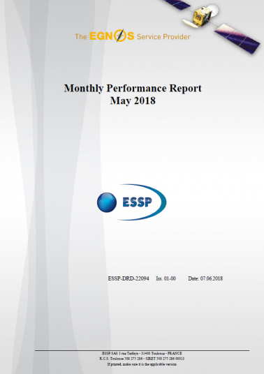 Monthly Performance Report May 2018