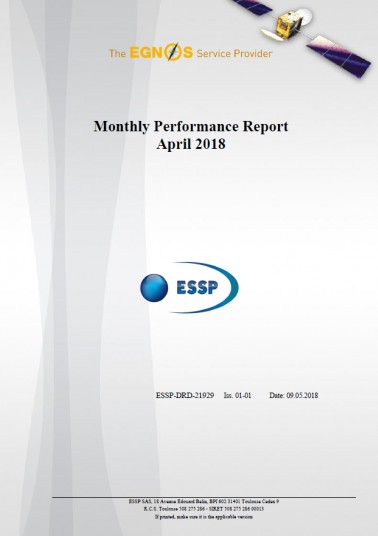 EGNOS Performance report
