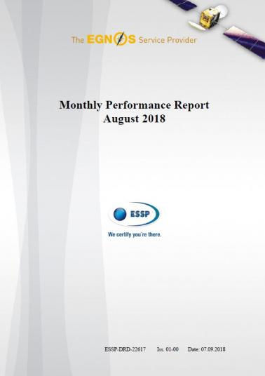 Monthly performance report