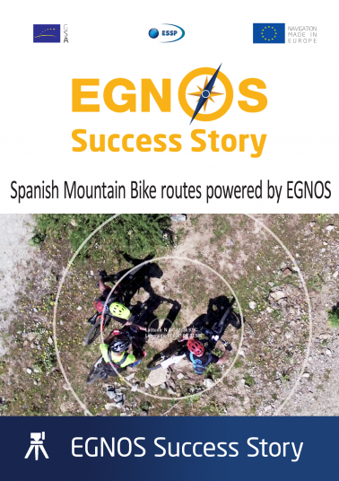 Spanish Mountain Bike routes powered by EGNOS