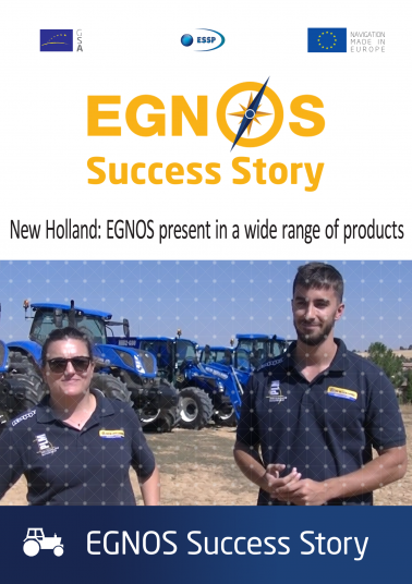 New Holland: EGNOS present in a wide range of products