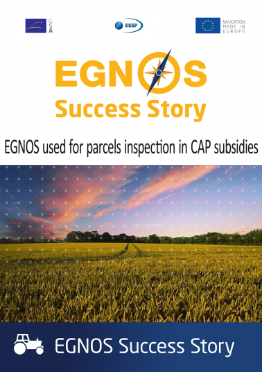 EGNOS used for parcels inspection in CAP subsidies