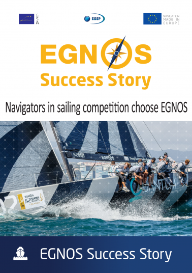 Navigators in sailing competition choose EGNOS