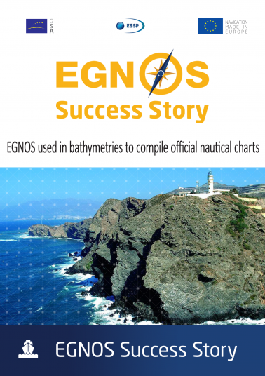 EGNOS used in bathymetries to compile official nautical charts