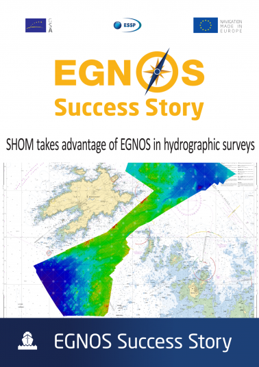 SHOM takes advantage of EGNOS in hydrographic surveys