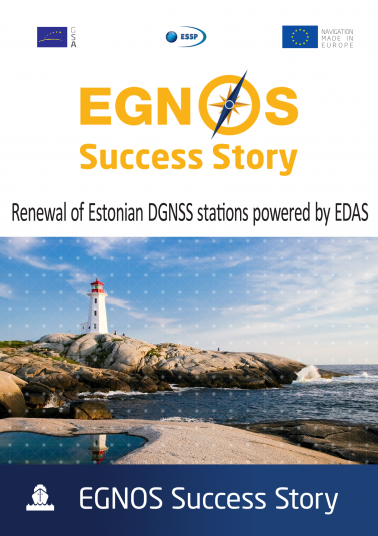 Renewal of Estonian DGNSS stations powered by EDAS