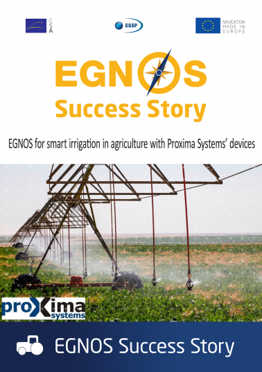 EGNOS for smart irrigation in agriculture with Proxima Systems' devices cover