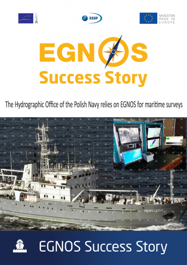 The Hydrographic Office of the Polish Navy relies on EGNOS for maritime surveys
