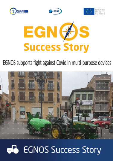 EGNOS supports fight against Covid in multi-purpose devices