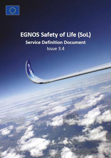 EGNOS Safety of Life (SoL) Service Definition Document Issue 3.4