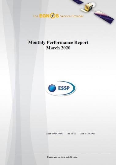 107 - Monthly Performance Report - March 2020 cover
