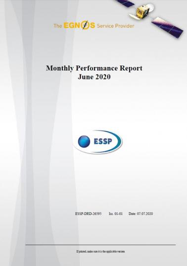 110 - Monthly Performance Report - June 2020 cover