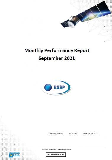 125 - Monthly Performance Report - September 2021 cover