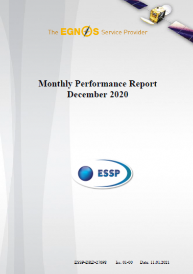 116 - Monthly Performance Report - December 2020 cover