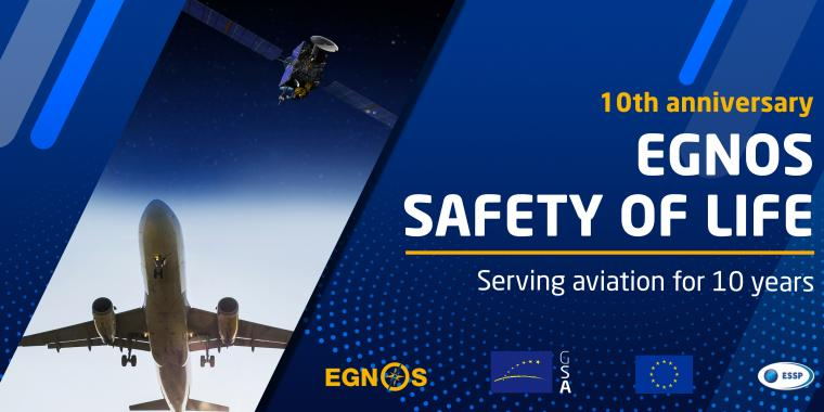 EGNOS Safety of Life: Serving aviation for 10 years