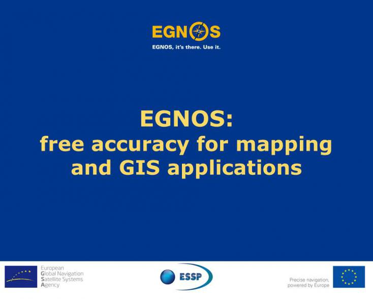 EGNOS webinar image for mapping and GIS applications