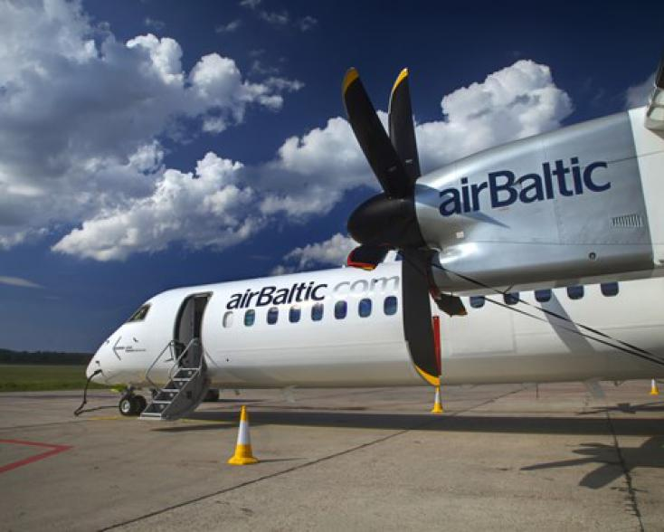 AirBaltic LPV entry into Operation