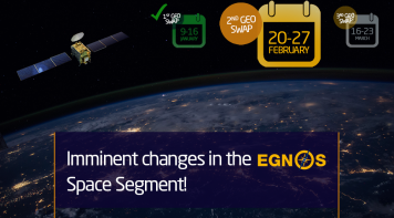 EGNOS Space Segment changes in the first quarter of 2020