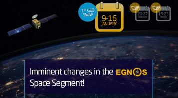 Imminent changes in the EGNOS Space Segment!!