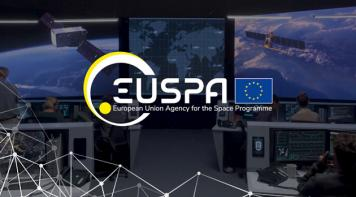 EUSPA (European Union Agency for the Space Programme) logo