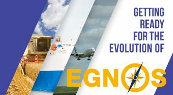 Image announcingthe evolution of EGNOS