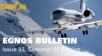 EGNOS BULLETIN Issue 33, Summer'20 Edition