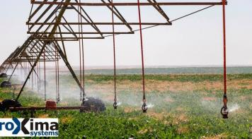 Smart agriculture irrigation equipment using a Proxima Systems' EGNOS-enabled controller.
