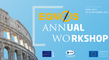 EGNOS Annual Workshop 2019 (Rome, Italy, 24-25 September)