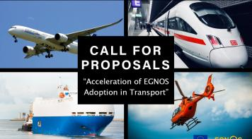 "CALL FOR PROPOSALS ""Acceleration of EGNOS Adoption in Transport"""